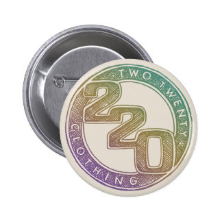 220 Clothing - Sketch 6 Cm Round Badge