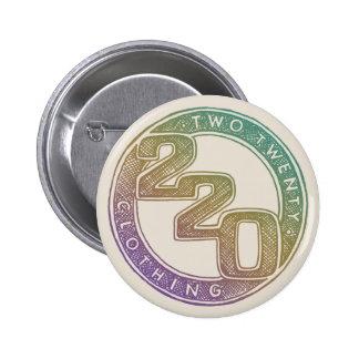 220 Clothing - Sketch 6 Cm Round Badge