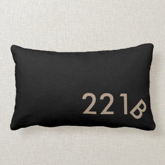 221 B. Baker Street Pillow