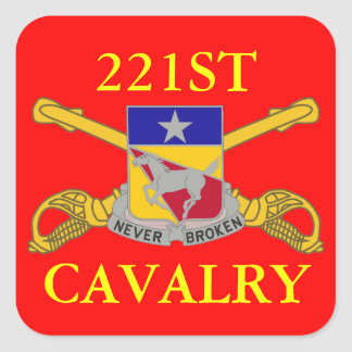 221ST CAVALRY STICKERS