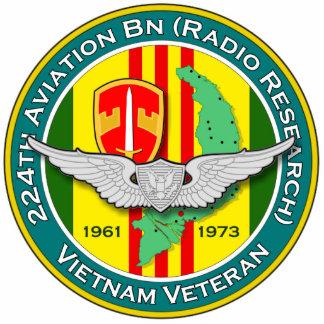 224th Avn Bn RR 2 - ASA Vietnam Photo Sculpture