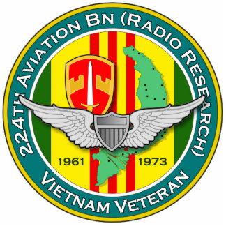 224th Avn Bn RR 3 - ASA Vietnam Photo Sculptures