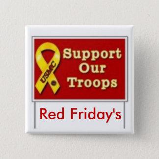227419322v10_150x150_Front, Red Friday's 15 Cm Square Badge