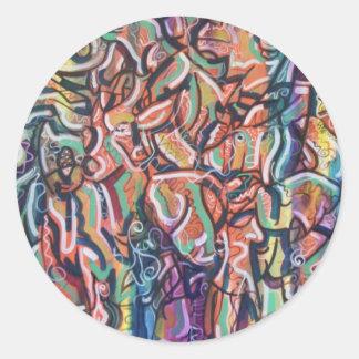 22 Mammals Round Sticker