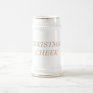 22 oz. CHRISTMAS BEER STEIN