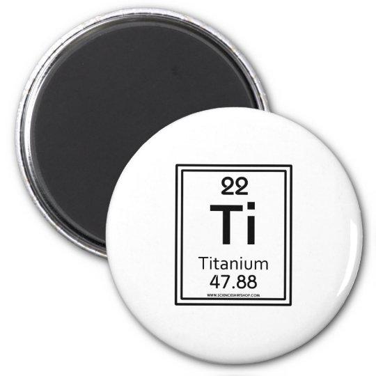 22 Titanium Magnet