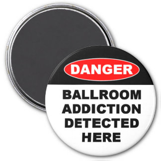 22b. Ballroom Addictions Magnets - Round