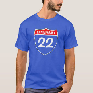 22nd Anniversary T-Shirt