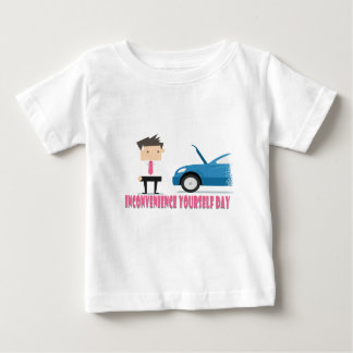 22nd February - Inconvenience Yourself Day Baby T-Shirt