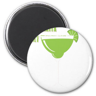 22nd February - Margarita Day - Appreciation Day 6 Cm Round Magnet