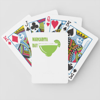 22nd February - Margarita Day - Appreciation Day Bicycle Playing Cards