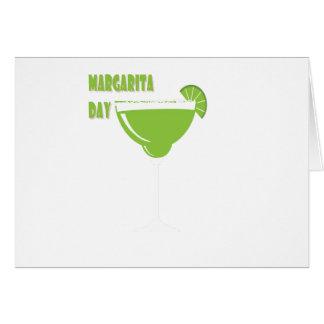 22nd February - Margarita Day - Appreciation Day Card