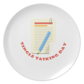 22nd February - Single Tasking Day Plate