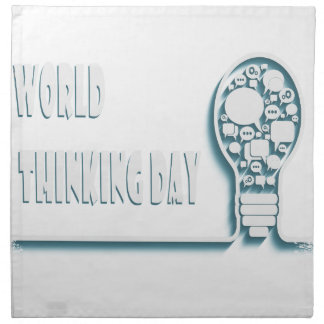 22nd February - World Thinking Day Napkin