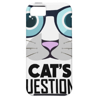 22nd January - Answer Your Cat's Questions Day Case For The iPhone 5