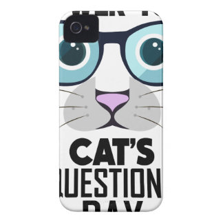 22nd January - Answer Your Cat's Questions Day Case-Mate iPhone 4 Case