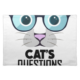 22nd January - Answer Your Cat's Questions Day Placemat