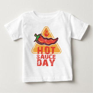 22nd January - Hot Sauce Day Baby T-Shirt