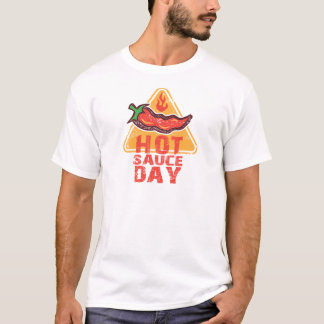 22nd January - Hot Sauce Day T-Shirt