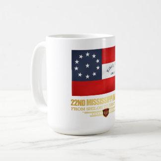 22nd Mississippi Infantry Coffee Mug