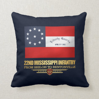 22nd Mississippi Infantry Cushion
