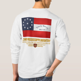 22nd Mississippi Infantry T-Shirt