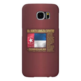 22nd North Carolina Infantry (BA2) Samsung Galaxy S6 Cases