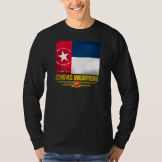 22nd North Carolina Volunteer Infantry T-Shirt