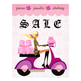 232 Fashion Flyer Scooter Woman Pink Damas Leopard
