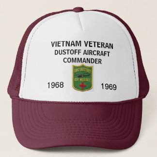 237th DUSTOFF AIRCRAFT COMMANDER MESH HAT
