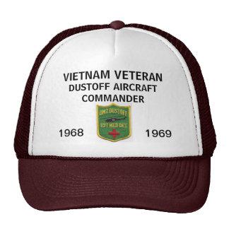 237th DUSTOFF AIRCRAFT COMMANDER MESH HAT
