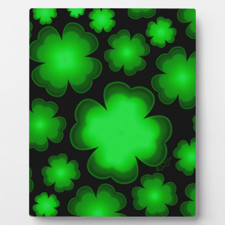 23 Four Leaf Clovers Display Plaques