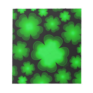 23 Four Leaf Clovers Notepad