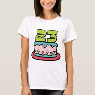 23 Year Old Birthday Cake T-Shirt