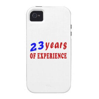 23 years of experience Case-Mate iPhone 4 covers