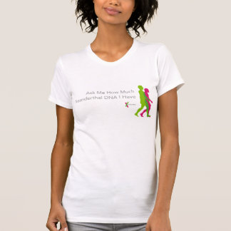 23andMe Neanderthal t-shirt