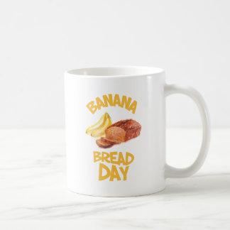 23rd February - Banana Bread Day Coffee Mug