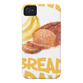 23rd February - Banana Bread Day iPhone 4 Covers