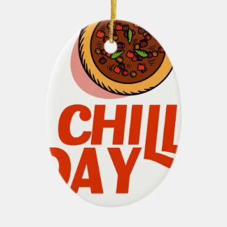 23rd February - Chilli Day - Appreciation Day Ceramic Ornament