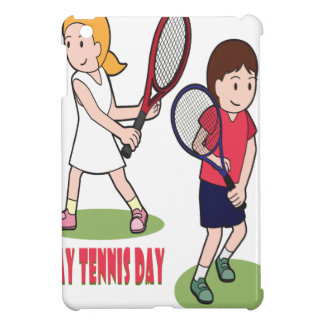 23rd February - Play Tennis Day - Appreciation Day iPad Mini Covers
