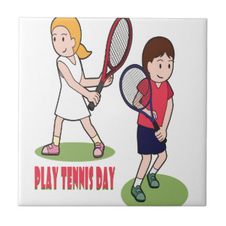 23rd February - Play Tennis Day - Appreciation Day Tile