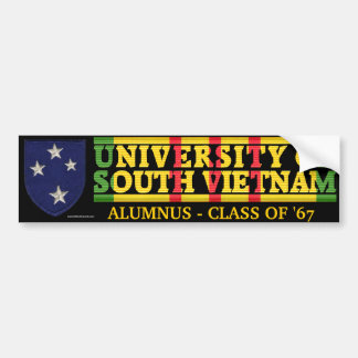 23rd Inf. Div - U of South Vietnam Alumnus Sticker
