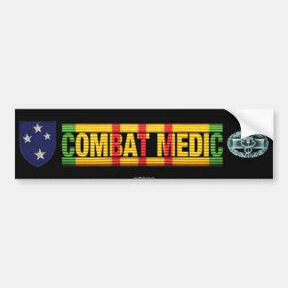 23rd Inf. Div. Vietnam COMBAT MEDIC Sticker Bumper Stickers
