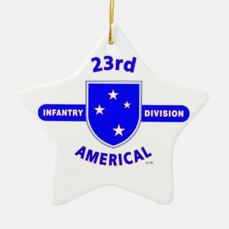 "23RD INFANTRY DIVISION ""AMERICAL"" PRODUCTS CERAMIC ORNAMENT"