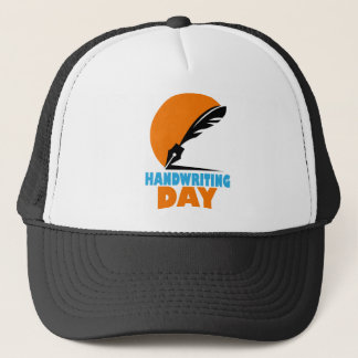 23rd January - Handwriting Day Trucker Hat