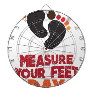 23rd January - Measure Your Feet Day Dartboard