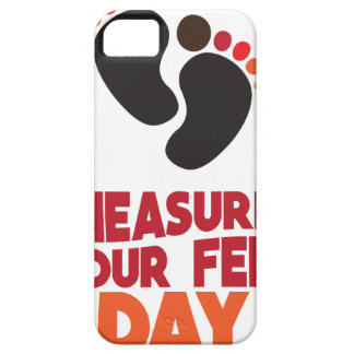 23rd January - Measure Your Feet Day iPhone 5 Case