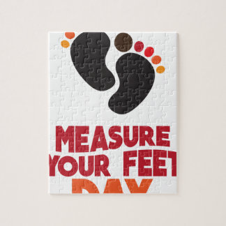 23rd January - Measure Your Feet Day Jigsaw Puzzle