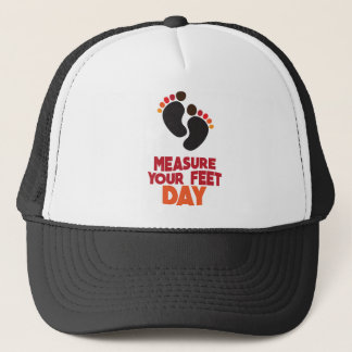 23rd January - Measure Your Feet Day Trucker Hat
