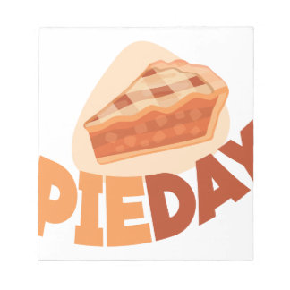 23rd January - Pie Day - Appreciation Day Notepad